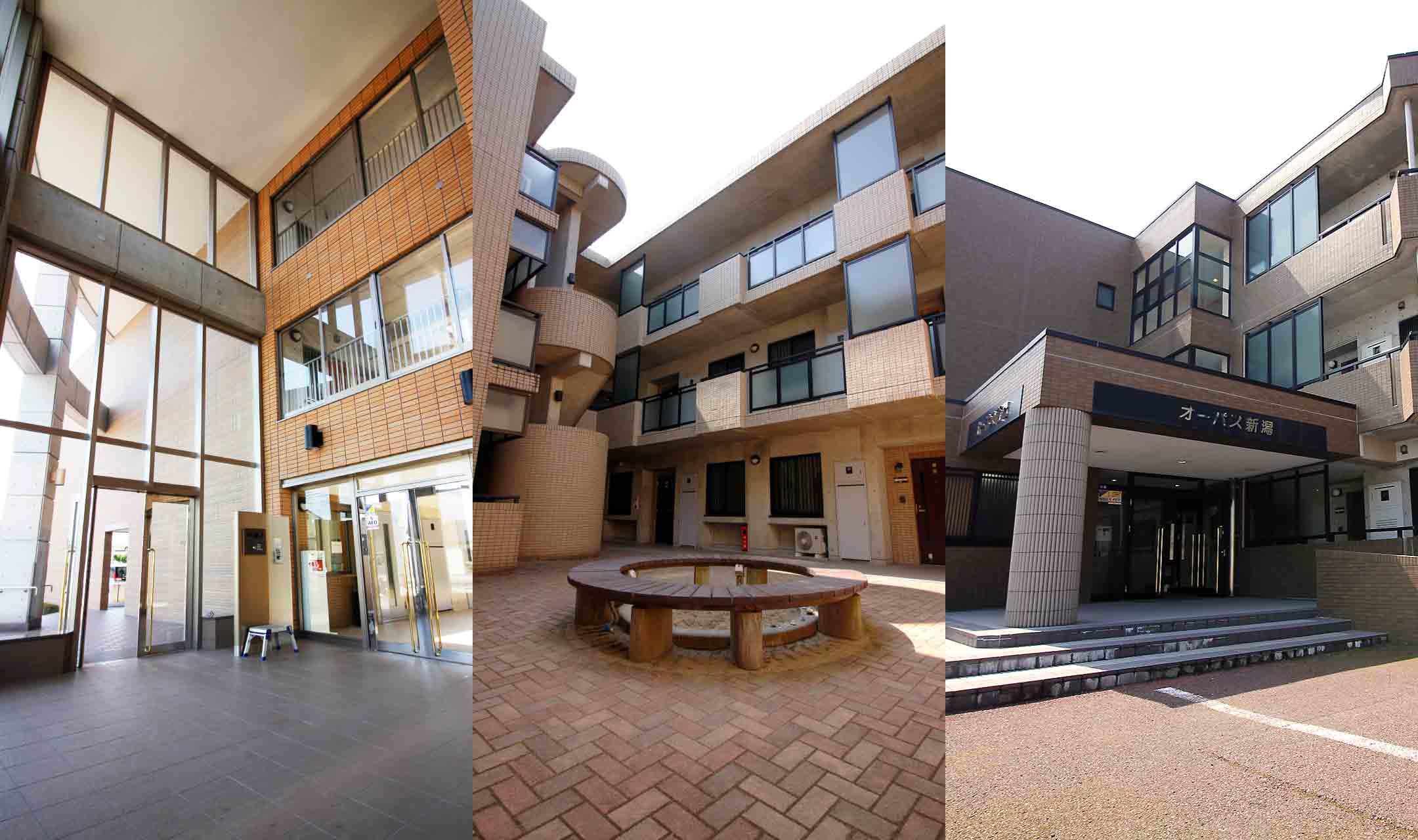 オーパスマンション3棟の写真